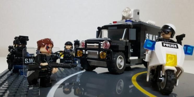 터미네이터2 커스텀 레고