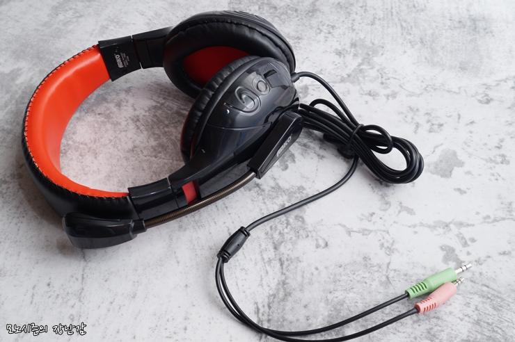ABKO HS80 스테레오 헤드셋 구매후기