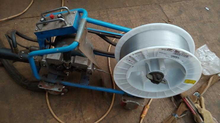 서스 컨베이어 드럼 TIG 알곤 용접기 스테인레스 강용 드럼 용접봉