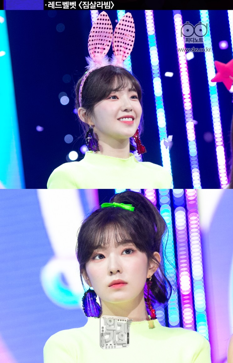 레드벨벳 in SBS 2