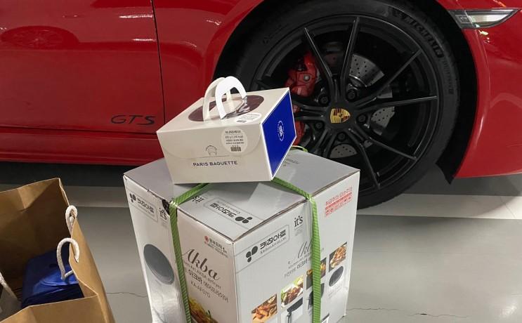 포르쉐 718 GTS 거품목욕 후 니콘 D850 카메라 구입하러 신도림 테크노마트