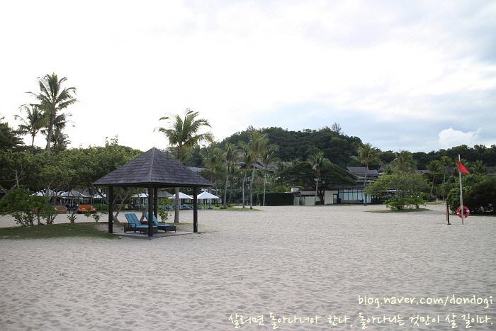 [코타키나발루] 샹그릴라 라사리아 리조트 2/2 - 해변에서 스탠딩 패들보드 타기, 그리고 노을