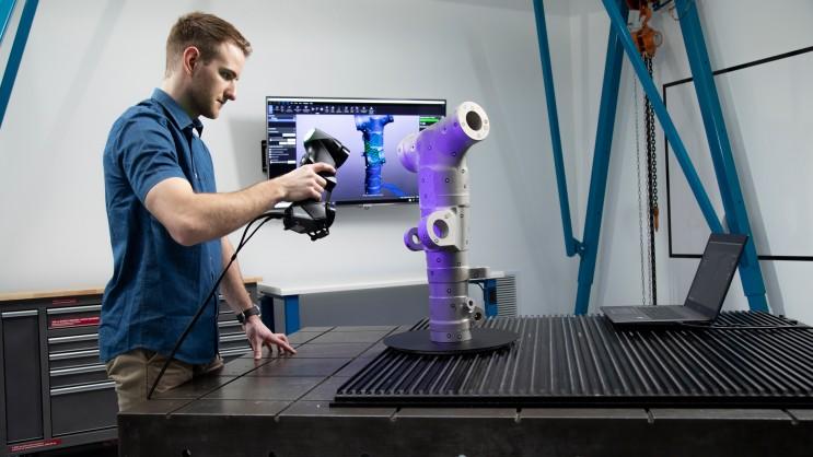 3D 스캐너(3D scanner) 및 자동화 측정 전문회사, 이즈소프트를 소개합니다! +)크레아폼 3D 스캐너