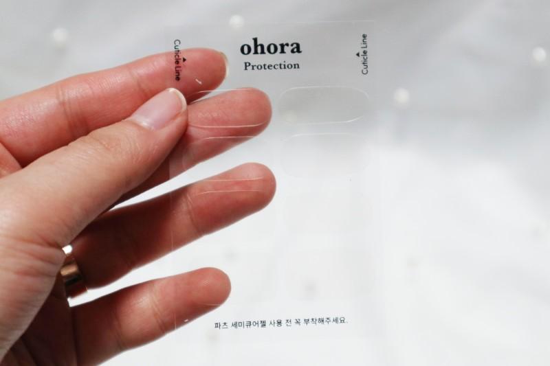 오호라 클래식X페탈 조합으로 네일해봄!