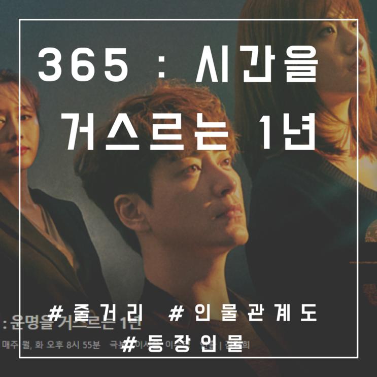 365 : 운명을 거스르는 1년 줄거리 등장인물관계도 O : 남지현 양동근