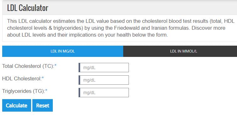 Heart Risk Calculator 심혈관질환 위험률 계산 네이버 블로그