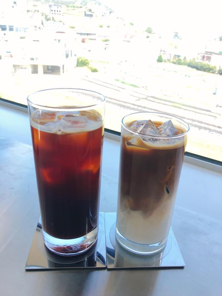 거제도 1박2일 여행 카페 외포, 커피맛 최고