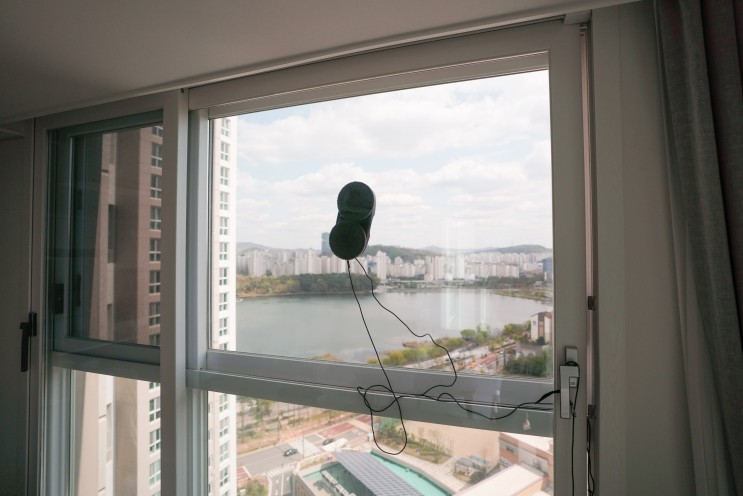 샤오미 창문 유리창 로봇청소기 후기