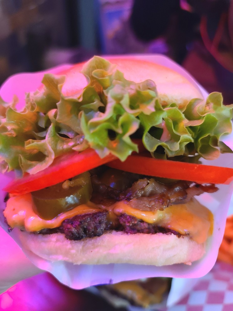 부산 해운대 맛집 버거인뉴욕에 다녀왔어요