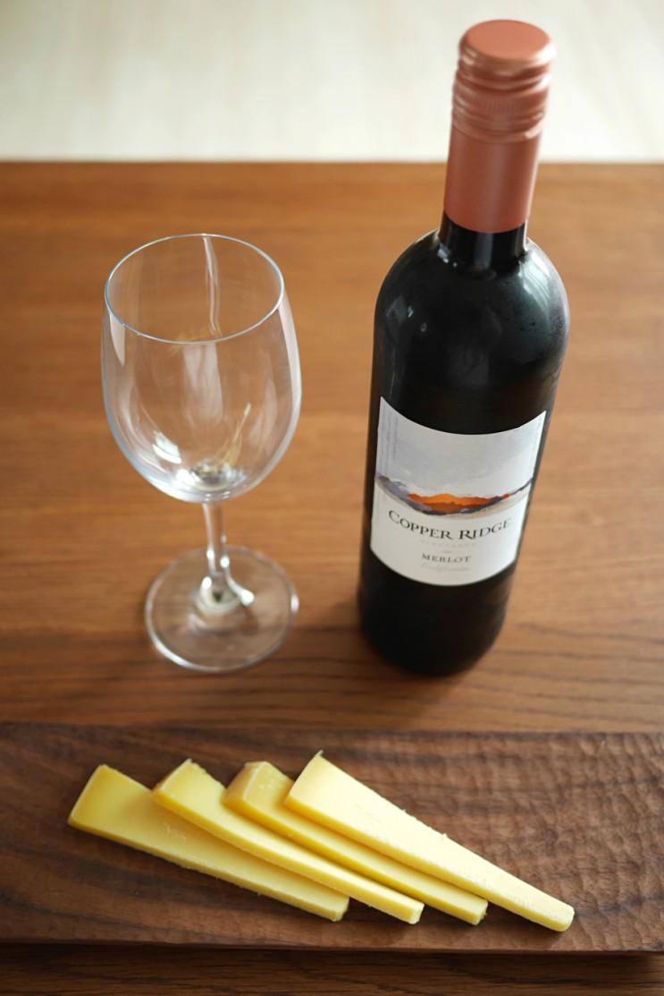 カッパーリッジメルロー/モルロト/メルロー、苛性ソーダ、非最高デイリーワイン(「夫婦の世界」キム・ヒエのように日常的にワインを楽しむ)