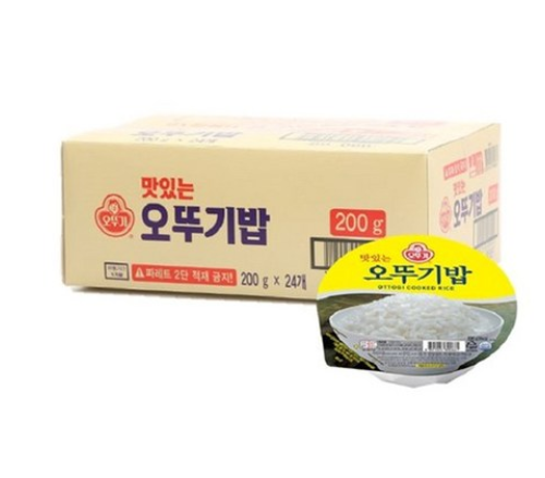 오뚜기 즉석밥 24개 18,060원 무료배송