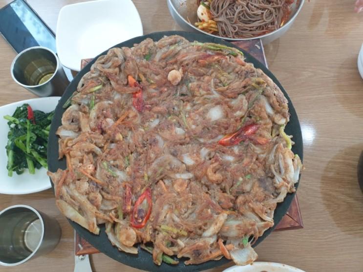 봉메밀발아메밀국수(길동생태공원맛집)