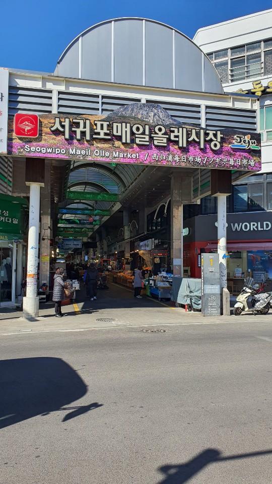 <제주토박이부동산> 제주여행 필수코스, 서귀포 매일올레시장