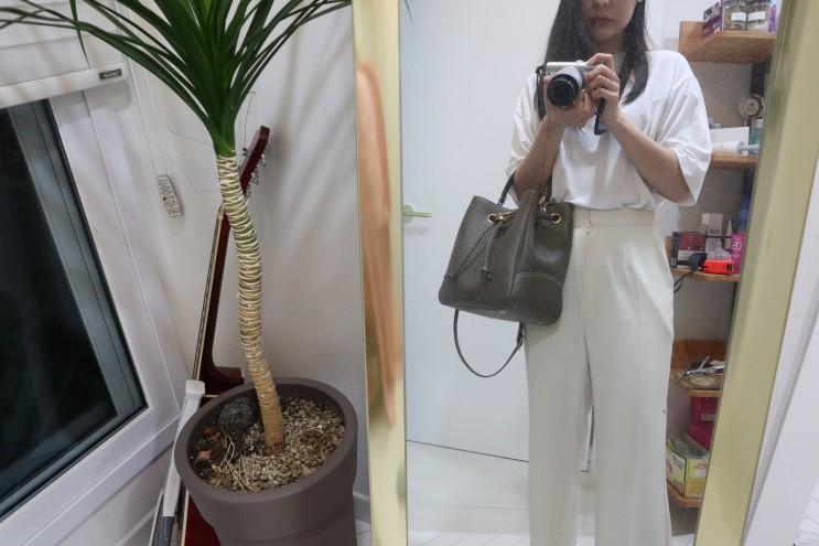 김포 현대프리미엄아울렛 멀버리 버킷백 가방