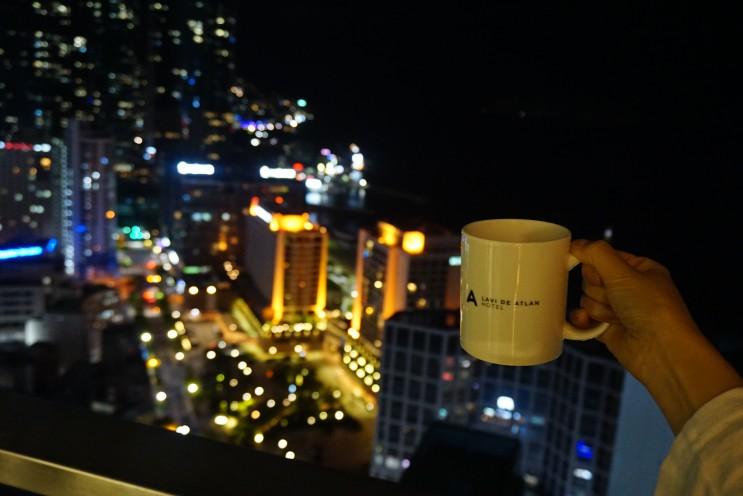 해운대 호텔::오션뷰,야경 모두 끝내주는::라비드아틀란 호텔!패밀리룸