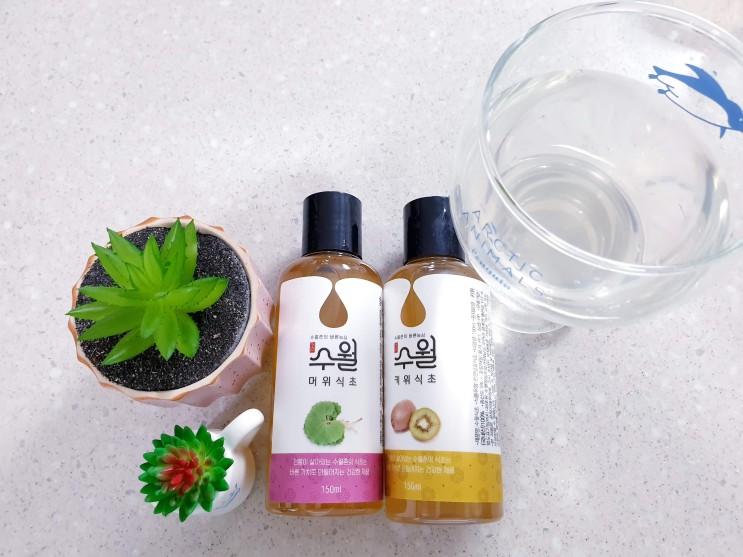 수월농장 발효식초로 하루 한잔, 건강 챙기기!