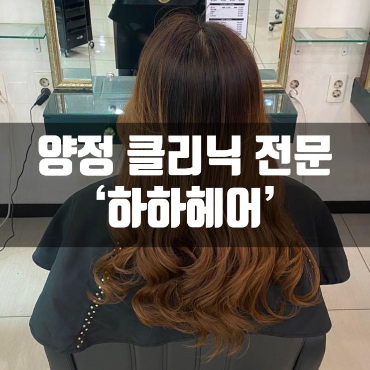 부산 양정 미용실 하하헤어 연산점에서 클리닉 받은 리얼후기!! (feat.건조한내머릿결)