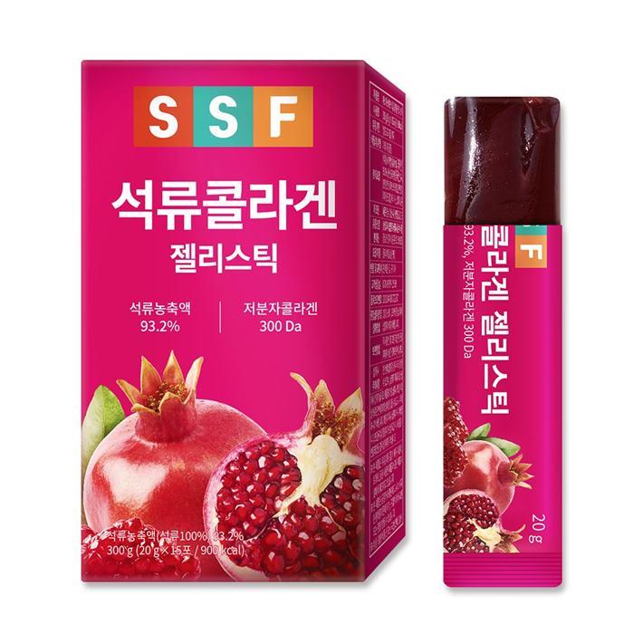 [대박할인] 순수식품 석류 콜라겐 젤리 스틱 2020년 05월 26일 기준 12,800 원 19% 할인