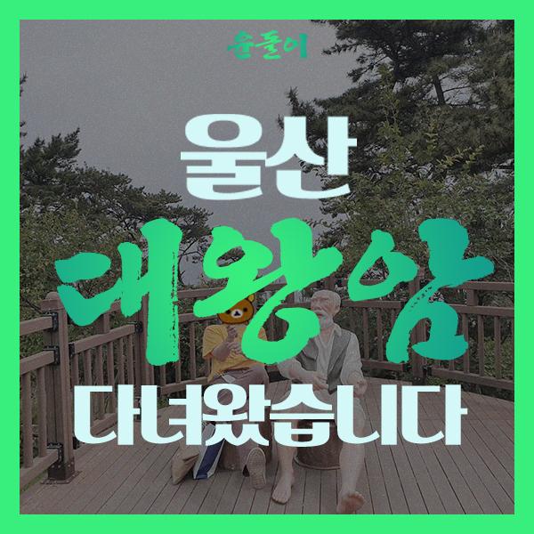울산 대왕암공원 데이트 다녀왔습니다!! 주말여행 한국관광 100선