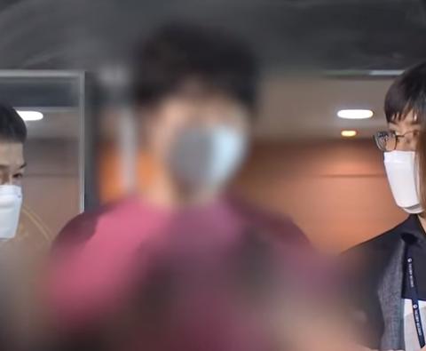 이상한 말투로 말하는 서울역 폭행범