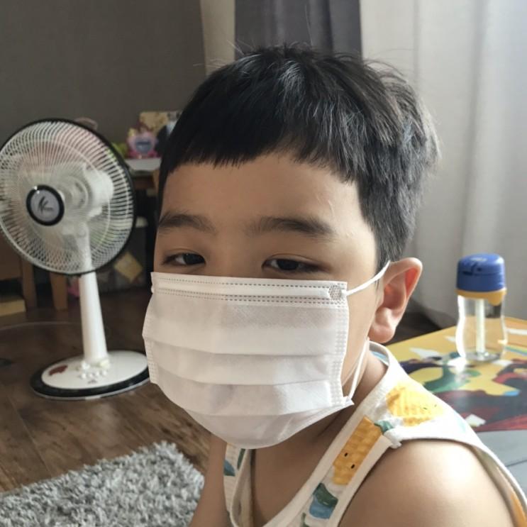 숨쉬기 편한 퓨어린어린이마스크 구매후기
