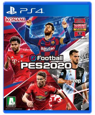 코나미 PS4 이풋볼 페스 2020 PES2020 스탠다드 에디션 한글판