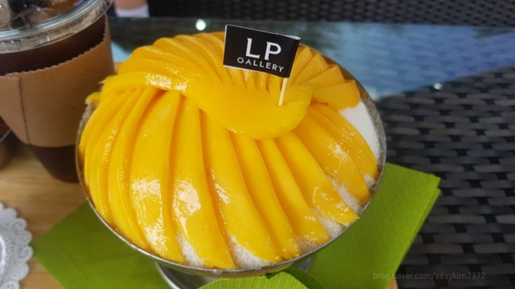 파주카페-LP갤러리 망고빙수맛집