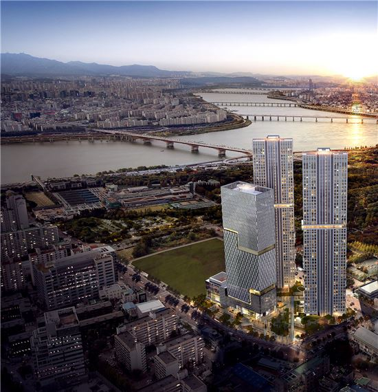 호반건설, 770억 규모 부산 동성하이타운 가로주택 정비사업수주_지하 4층~지상 35층 2개동 규모, 아파트 268세대·판매시설 구성