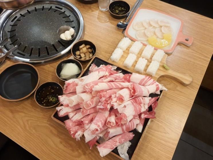 남양주 다산 맛집, 다산신도시 고기집, 이차돌 다산중앙점