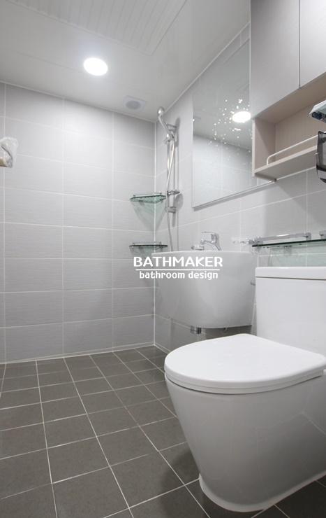 공간활용도를 높인 욕실, 노원구 상계동 상계벽산아파트 욕실인테리어