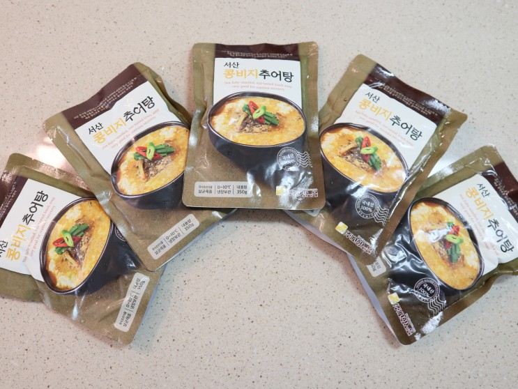 간편조리식품 고향노을 콩비지추어탕 추어탕만드는법 쉬워요