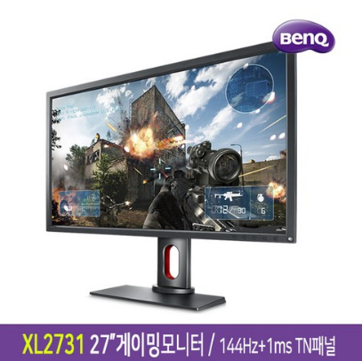 PT-벤큐 ZOWIE XL2411P XL2731게이밍모니터 TN패널 144Hz+1ms-상품평행사[PT]