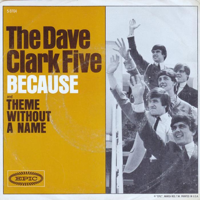 Dave Clark Five - Because [듣기, 노래가사, Audio, LV]