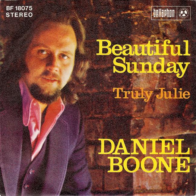 Daniel Boone - Beautiful Sunday [듣기, 노래가사, Audio, LV]
