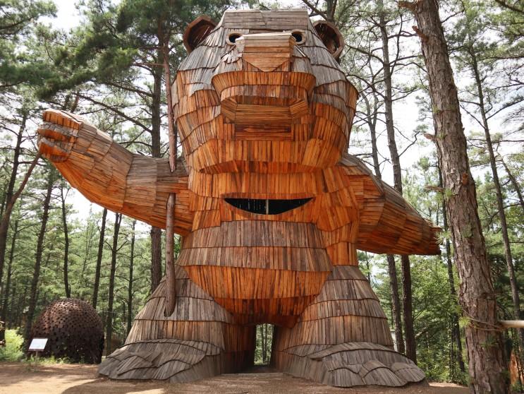 공주 가볼만한 곳 - 세종근교 아이와 함께 하는 숲체험 연미산자연미술공원(2020.07.21)