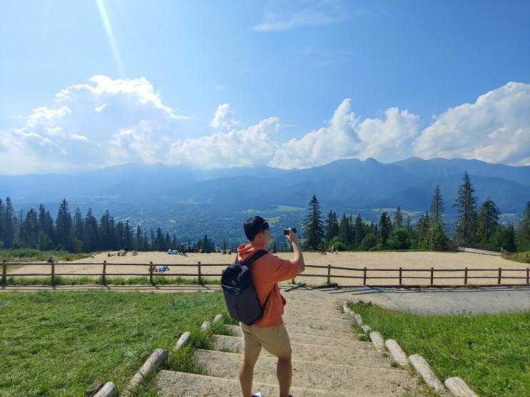 [폴란드 여행] 여름휴가 2일차, 자코파네 아름다운 산마을 구발로브카에서 루지(썰매) 타기