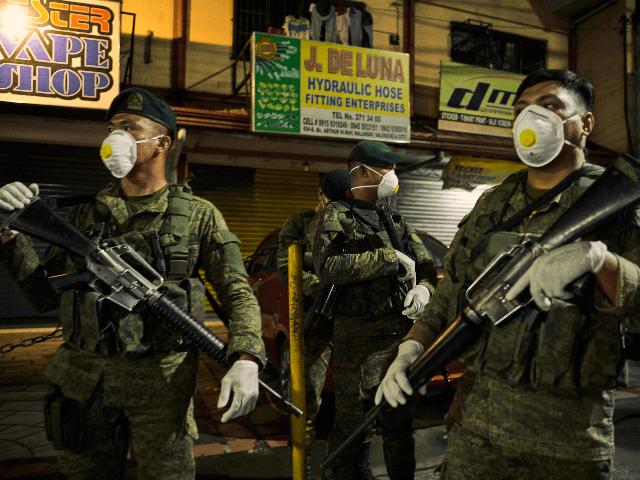 필리핀 경찰청 소속 코로나 확진자 2,008명. 신규 76명 확진