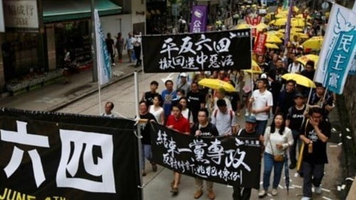 홍콩 보안법 시행 후 한 달 홍콩 상황은??