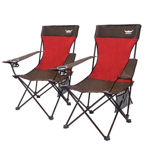 캠핑 초보입문자 캠핑의자 버팔로 접이식 와이드 릴렉스 체어 1+1