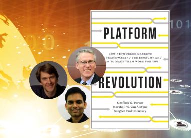 플랫폼 레볼루션 Platform Revolution : 4차 산업혁명 시대를 지배할 플랫폼 비즈니스의 모든것! - 마셜 밴 앨스타인, 상지트 폴 초더리, 제프리 파커