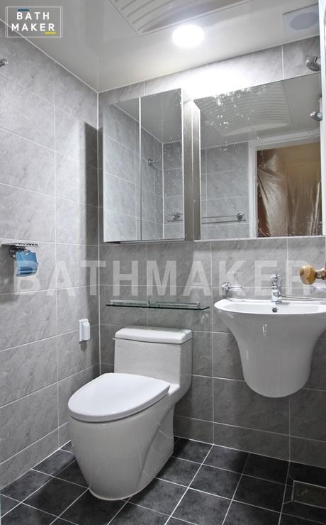 동두천 지행동 현대아파트) 작은안방욕실 인테리어