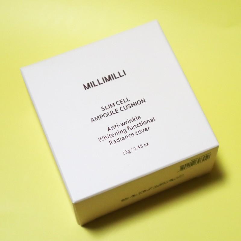 밀리밀리 슬림셀앰플쿠션 촉촉한 쿠션으로 추천해!