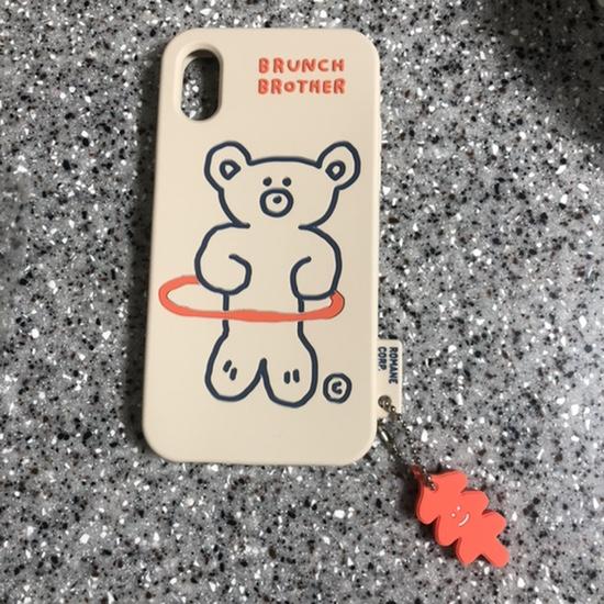 아이폰x 폰케이스 • 브런치브라더 훌라베어 실리콘 케이스 • 귀엽고 특이한 케이스 추천