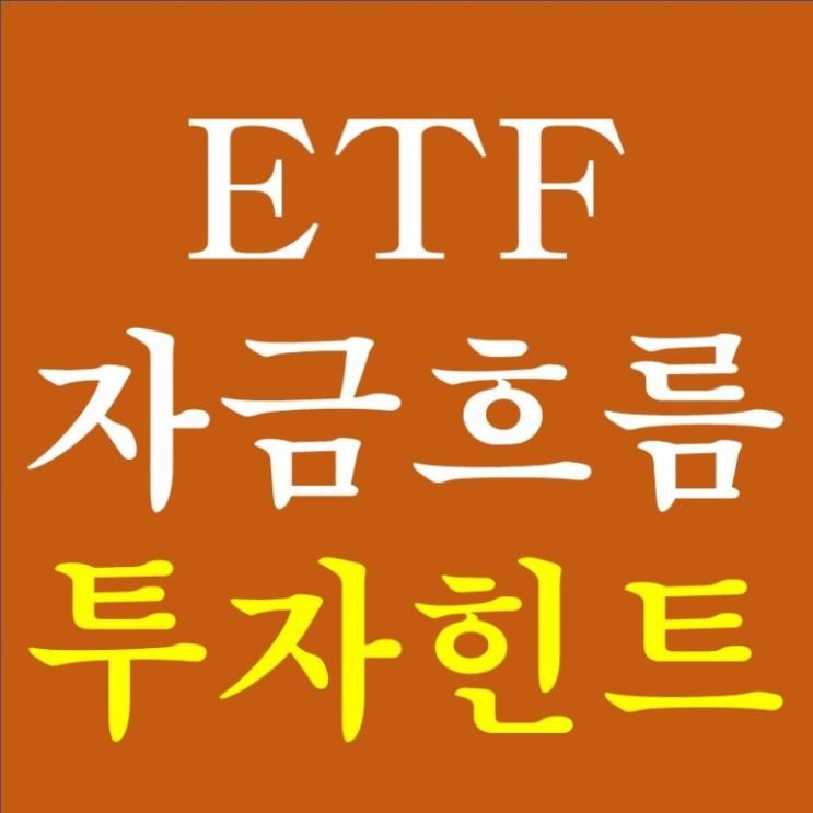 미국 ETF 자금흐름 투자힌트 - 변동성 확대의 시작일까?