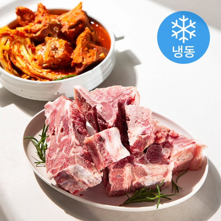 생생포크 돼지 등뼈 (냉동), 2.4kg, 1개