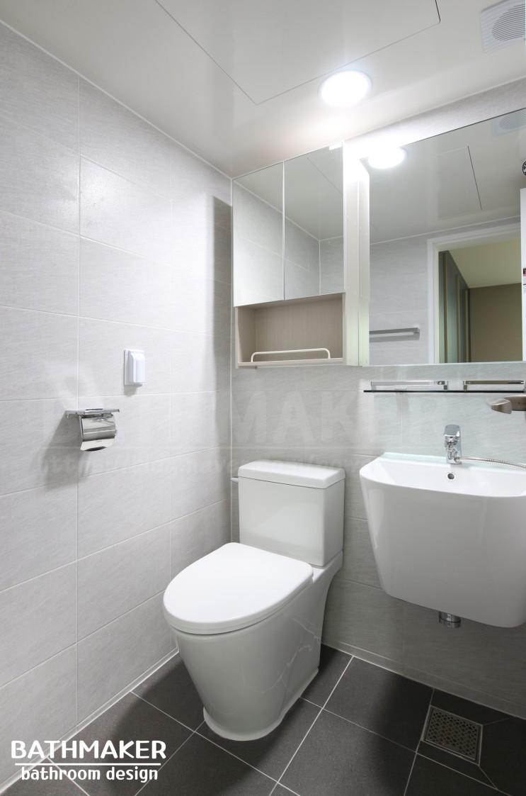의정부시 호원동 우성5차 안방화장실 유행안타는 욕실 리모델링