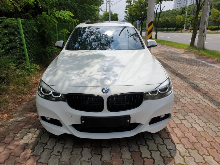 [3시리즈] BMW 대구 구미 3GT M Sport 9월 프로모션 출고 후기 (알파인 화이트 / 블랙 시트)