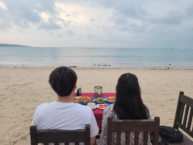신혼여행의 기억 3 - 울루와뜨 사원 & 씨푸드 디너 (feat. 발리)