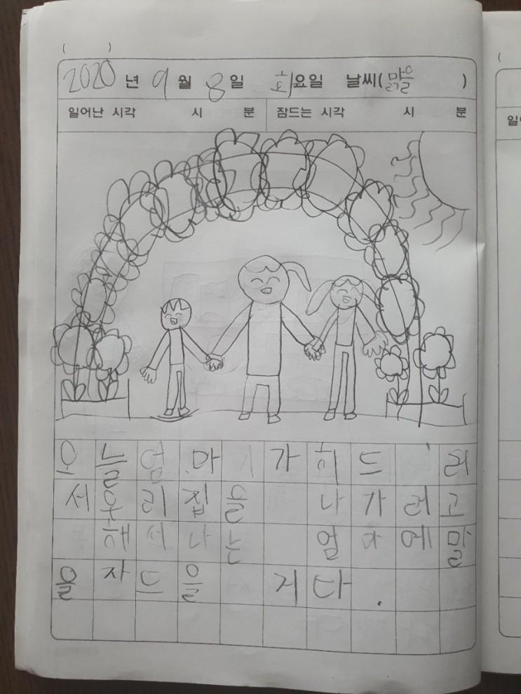 엄마의 독백_feat.아들 그림일기