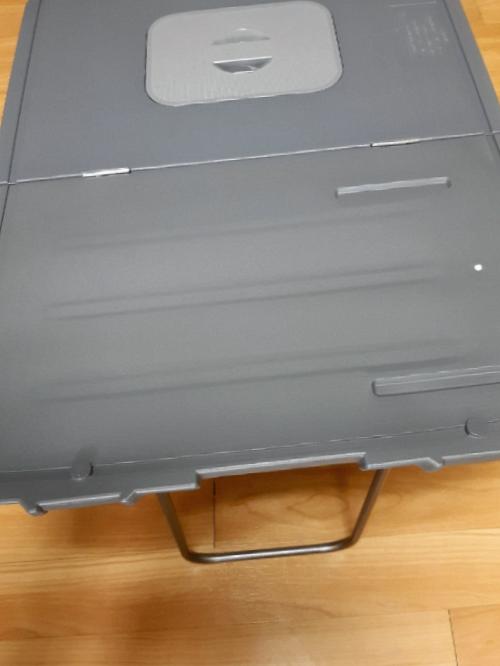 가심비 역대급 캠핑테이블 코스모스 테이블겸용 바퀴형 아이스박스 WJ-957T 강추해요ㅎ
